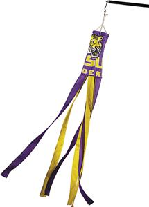 COLLEGIATE LSU Windsock w/Streamers
