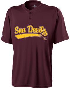 Holloway Collegiate Arizona State Ball Park Jersey