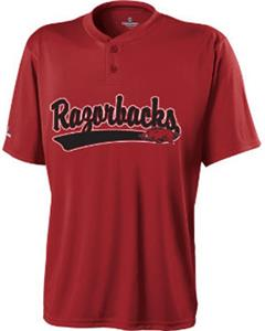 Holloway Collegiate Arkansas Ball Park Jersey