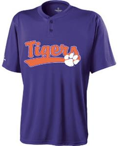 Holloway Collegiate Clemson Tiger Ball Park Jersey
