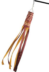 COLLEGIATE Virginia Tech Windsock w/Streamers
