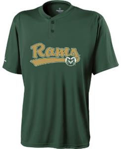 Holloway Collegiate Colorado St. Ball Park Jersey