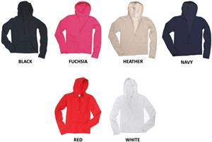 Girls Cutting Edge Fleece Zip Up Hoodies