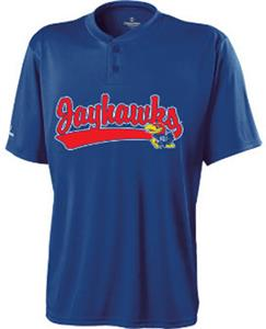 Holloway College Kansas Jayhawks Ball Park Jersey