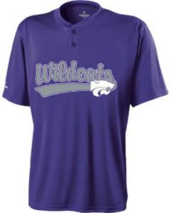 Holloway Collegiate Kansas State Ball Park Jersey