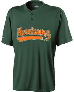 Holloway College Miami Hurricanes Ball Park Jersey