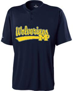 Holloway Collegiate Michigan Ball Park Jersey