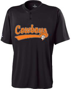 Holloway Collegiate Oklahoma St. Ball Park Jersey