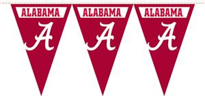 COLLEGIATE Alabama Party Pennant Flags