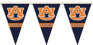COLLEGIATE Auburn Party Pennant Flags