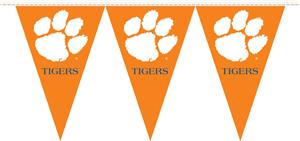 COLLEGIATE Clemson Party Pennant Flags