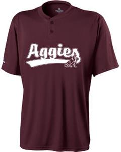 Holloway Collegiate Texas A&amp;M Ball Park Jersey