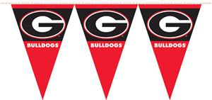 COLLEGIATE Georgia Party Pennant Flags