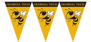 COLLEGIATE Georgia Tech Party Pennant Flags