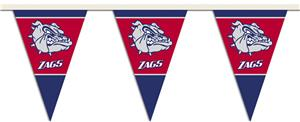 COLLEGIATE Gonzaga Party Pennant Flags