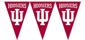 COLLEGIATE Indiana Party Pennant Flags