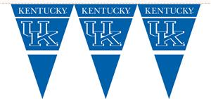 COLLEGIATE Kentucky Party Pennant Flags