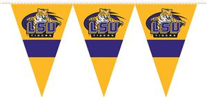 COLLEGIATE LSU Party Pennant Flags