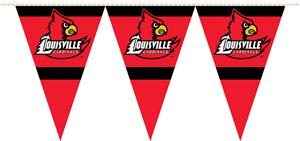 COLLEGIATE Louisville Party Pennant Flags