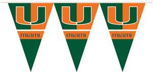 COLLEGIATE Miami Party Pennant Flags