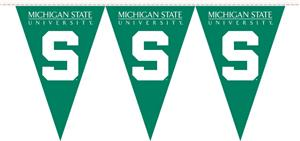 COLLEGIATE Michigan State Party Pennant Flags