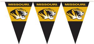 COLLEGIATE Missouri Party Pennant Flags