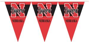 COLLEGIATE Nebraska Party Pennant Flags