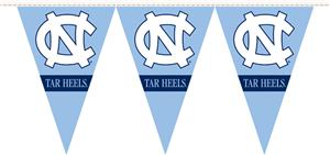 COLLEGIATE North Carolina Party Pennant Flags