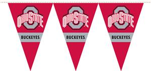 COLLEGIATE Ohio State Party Pennant Flags