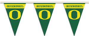 COLLEGIATE Oregon Party Pennant Flags