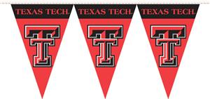 COLLEGIATE Texas Tech Party Pennant Flags