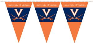 COLLEGIATE Virginia Party Pennant Flags