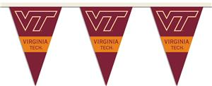 COLLEGIATE Virginia Tech Party Pennant Flags