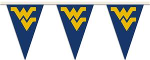 COLLEGIATE West Virginia Party Pennant Flags