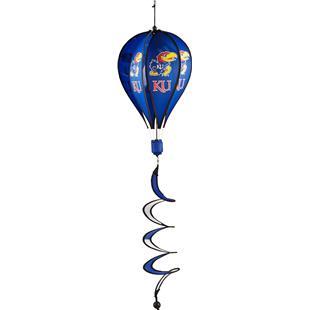 COLLEGIATE Kansas Hot Air Balloon Spinner
