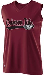 Holloway Ladies Curve Collegiate Alabama Jersey