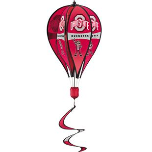 Collegiate Ohio State Hot Air Balloon Spinner