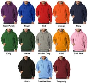 Blue Generation Cotton Rich Fleece Pullover Hoodie