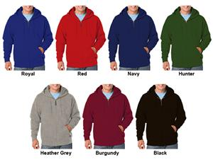 Blue Generation Cotton Rich Fleece Zip Hoodies