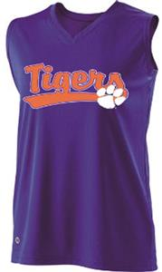 Holloway Ladies Curve Collegiate Clemson Jersey