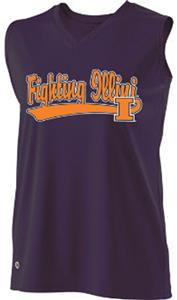 Holloway Ladies Curve Collegiate Illinois Jersey