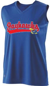 Holloway Ladies Curve Collegiate Kansas Jersey