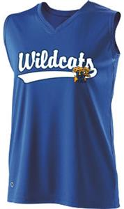 Holloway Ladies Curve Collegiate Kentucky Jersey