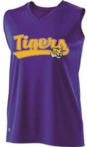 Holloway Ladies Curve Collegiate LSU Tigers Jersey