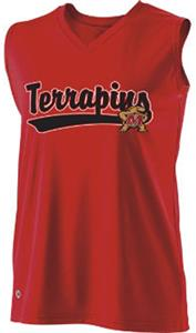 Holloway Ladies Curve Collegiate Maryland Jersey