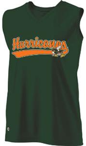 Holloway Ladies Curve Collegiate Miami Jersey