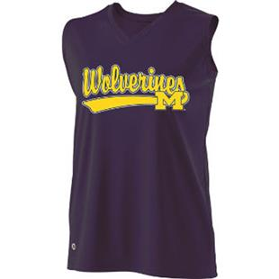 Holloway Ladies'/Girls' Collegiate Michigan Jersey