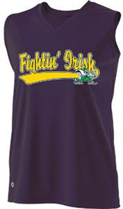 Holloway Ladies Curve Collegiate Notre Dame Jersey