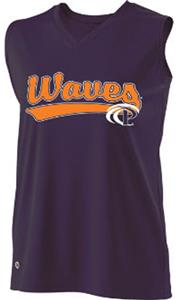 Holloway Ladies Curve Collegiate Pepperdine Jersey