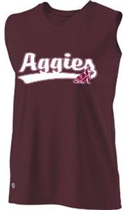Holloway Ladies/Girls Collegiate Texas A&M Jersey